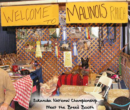 2006 Eukanuba Natl Champ Meet the Breed Booth