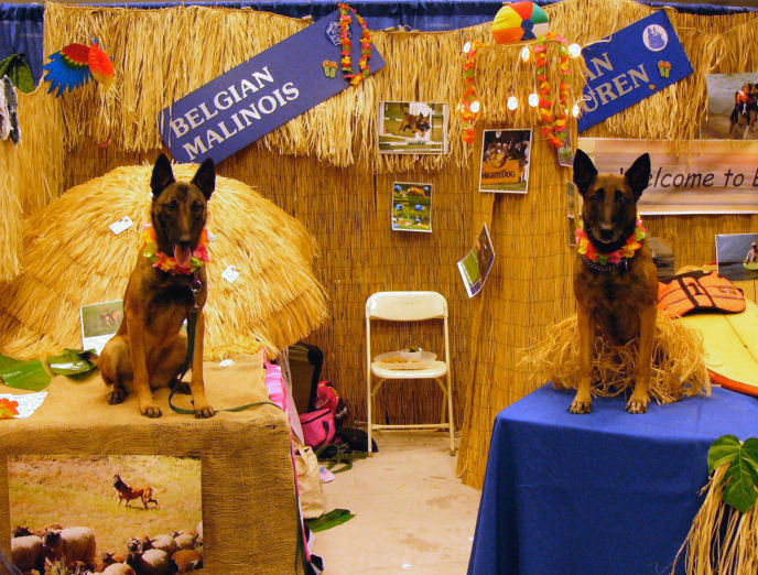 2007 Eukanuba National Championship - Meet the Breed Booth